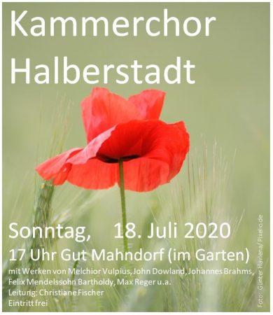 Kammerchor 18.07.2020